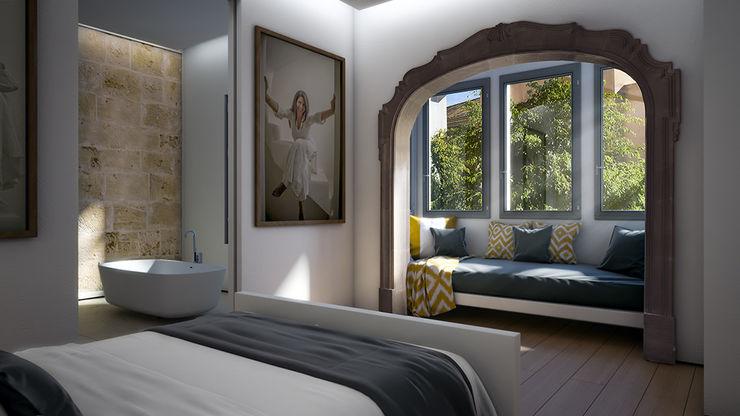 Bedroom 4D Studio Architects and Interior Designers