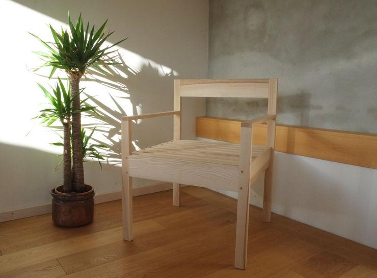 Contesini Studio & Bottega Living roomStools & chairs Solid Wood Wood effect
