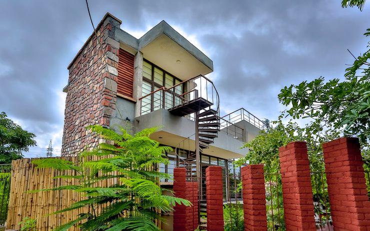 prarthit shah architects 現代房屋設計點子、靈感 & 圖片