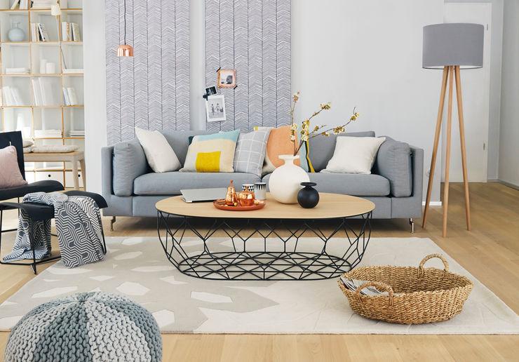 Homemate GmbH Living room Grey