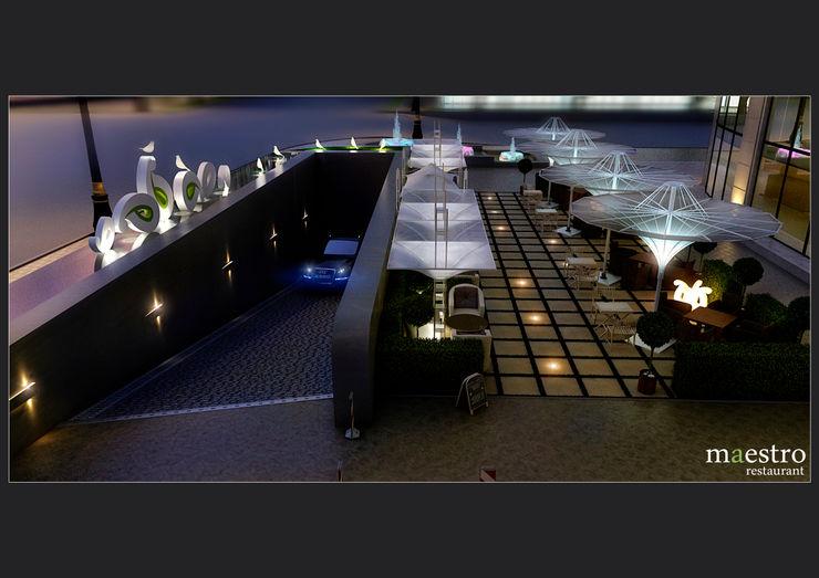 Ресторан <q> Maestro</q> \ Экстерьер Sweet Home Design Ресторации