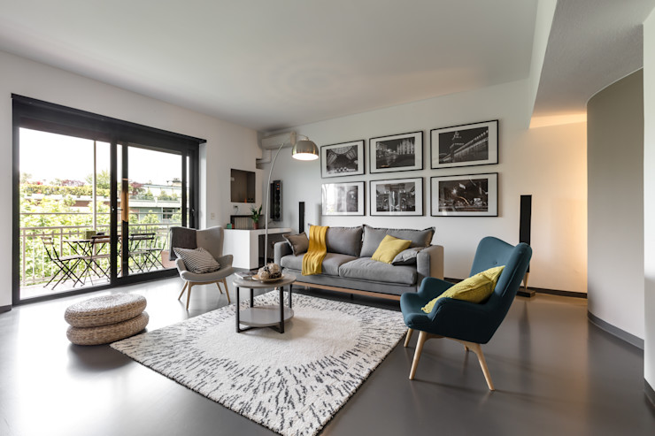 Architrek Salones de estilo moderno
