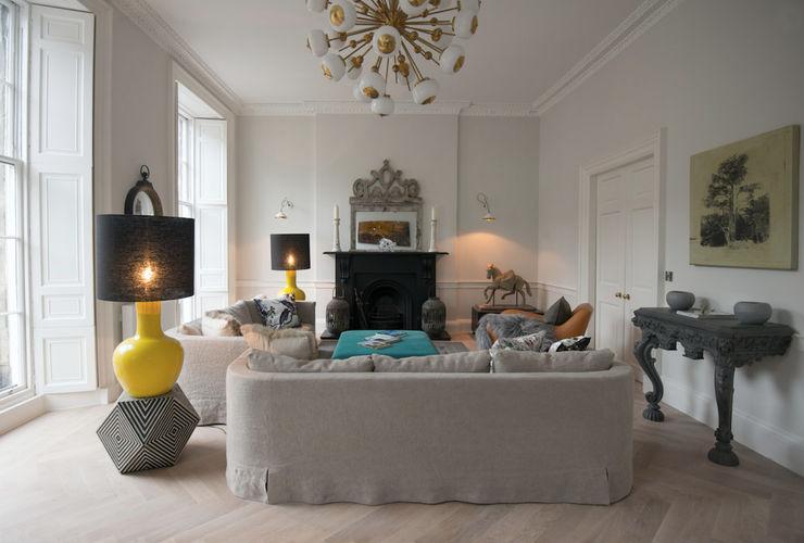 Stylish Yet Comfortable Sitting Room Hen & Crask Edinburgh Living room