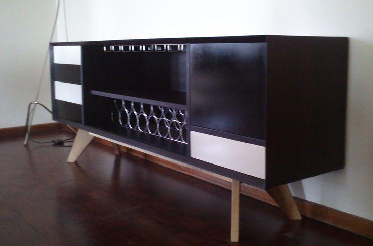 GreenCube Design Pty Ltd ЇдальняСтійки для вина Дерево