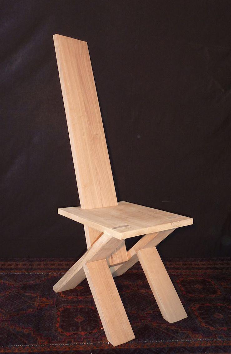 GreenCube Design Pty Ltd ВітальняТабурети та стільці Дерево