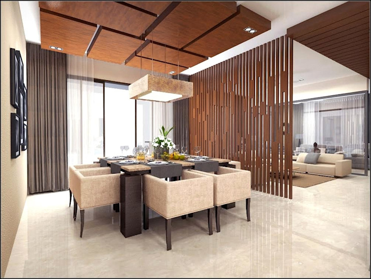 Vinyaasa Architecture & Design Nowoczesna jadalnia