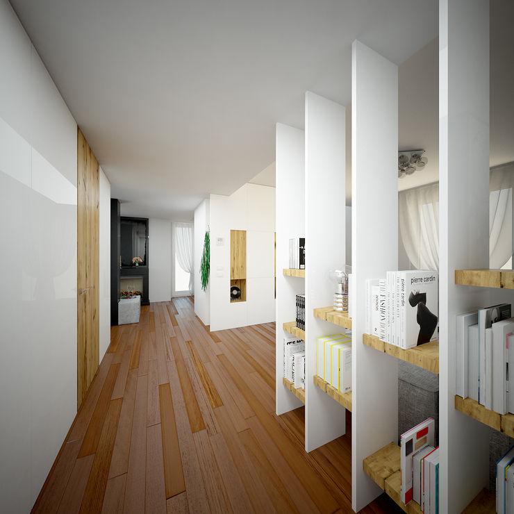 Render foto-realistico zona ingresso QUADRASTUDIO Bianco