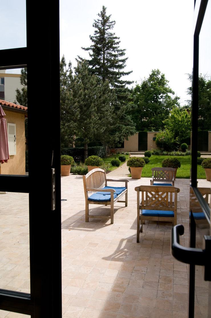 Salon de jardin Pierre Bernard Création Jardin classique