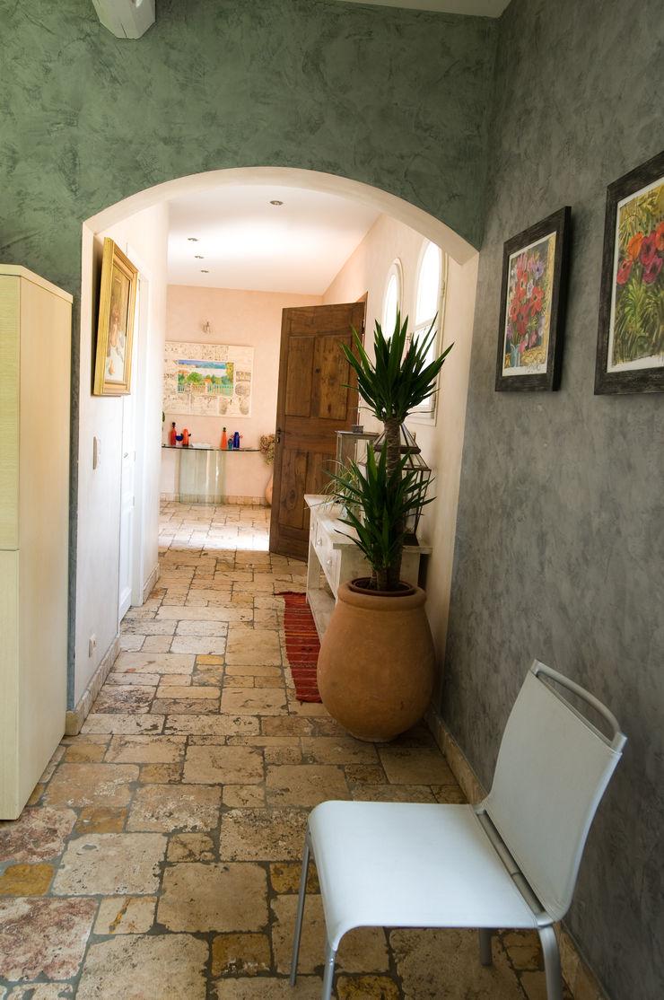 Couloir Pierre Bernard Création Couloir, entrée, escaliers méditerranéens