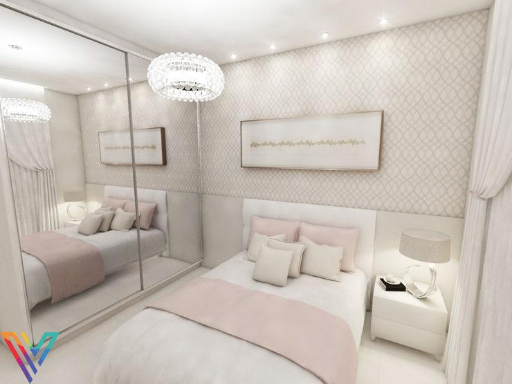 Vitral Studio Arquitetura Modern style bedroom