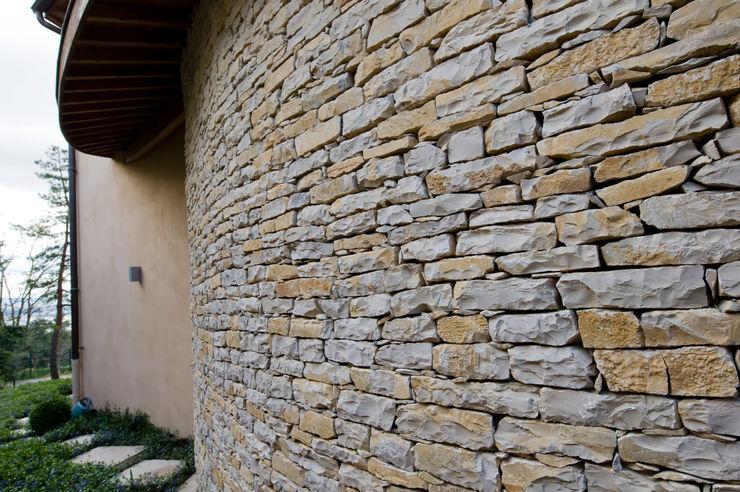 Mur en pierres apparentes Pierre Bernard Création Murs & Sols classiques Pierre
