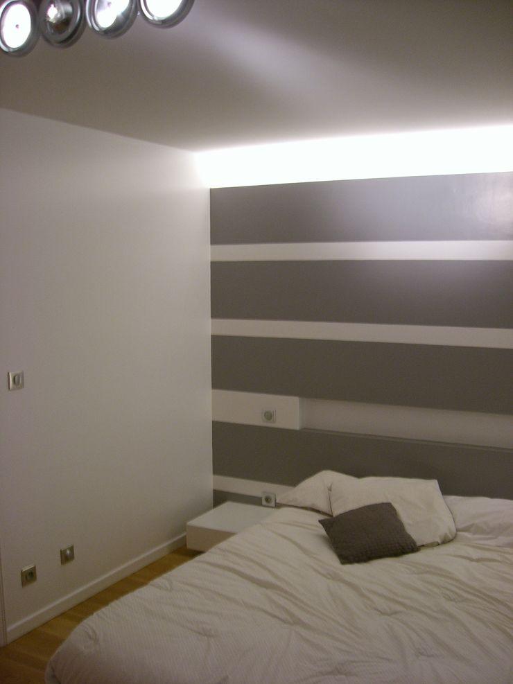 Mur à rayures Pierre Bernard Création Murs & Sols modernes