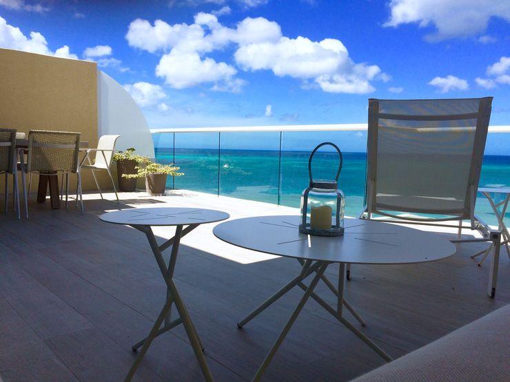 Terraza Isla Margarita THE muebles Balcones y terrazas de estilo moderno