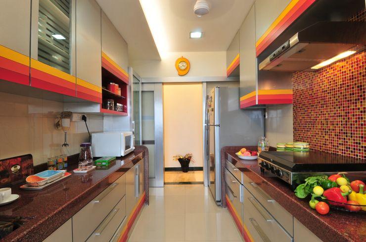 homify Cocinas de estilo moderno Contrachapado Metálico/Plateado