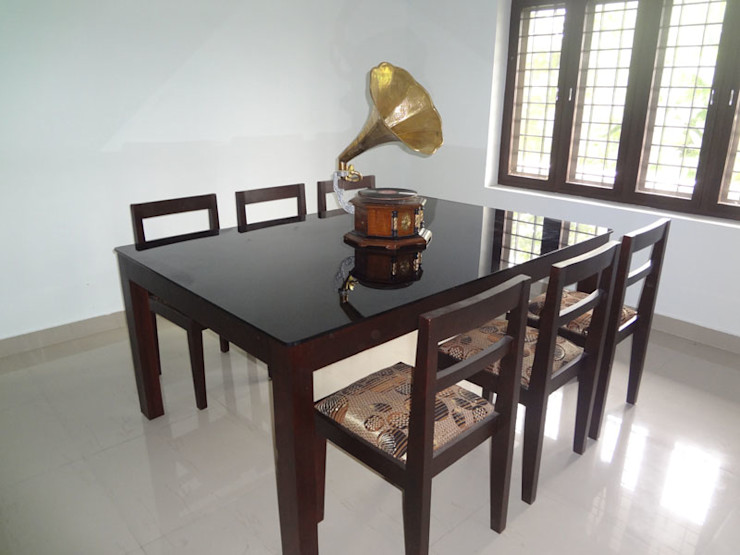 Our Interior Design Works Aishwarya Developers Living roomAccessories & decoration Wood Amber/Gold