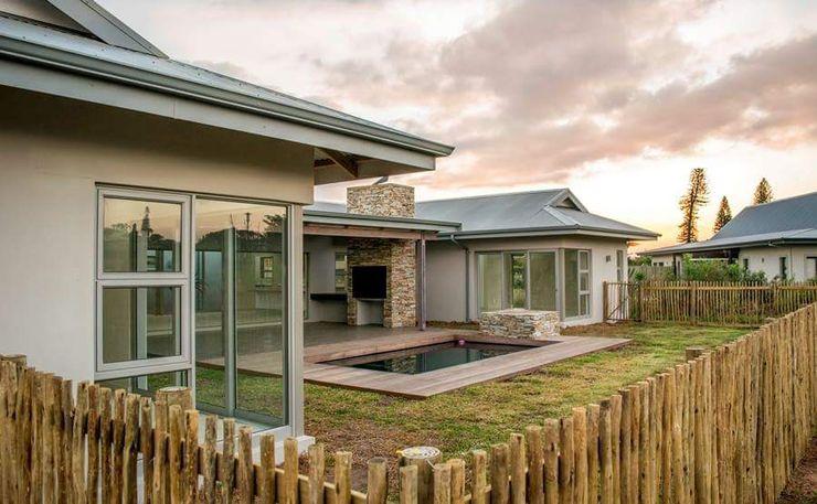 CA Architects Jardines de estilo minimalista