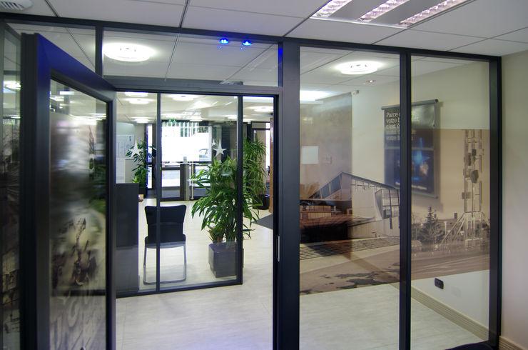 Hall d'entrée Pierre Bernard Création Espaces de bureaux classiques