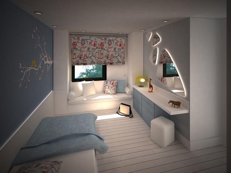 APARTMENT Sinem Oktay Modern Yatak Odası