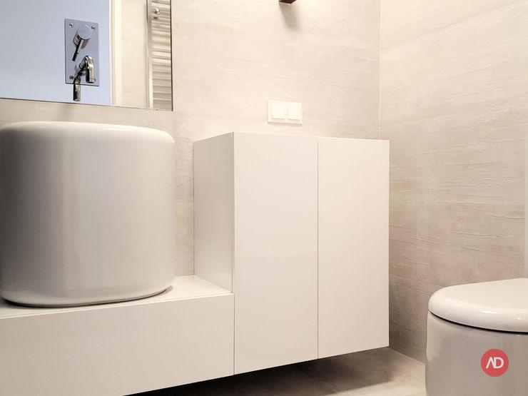 Casa de Banho ARCHDESIGN LX Casas de banho mediterrânicas Cerâmica Branco