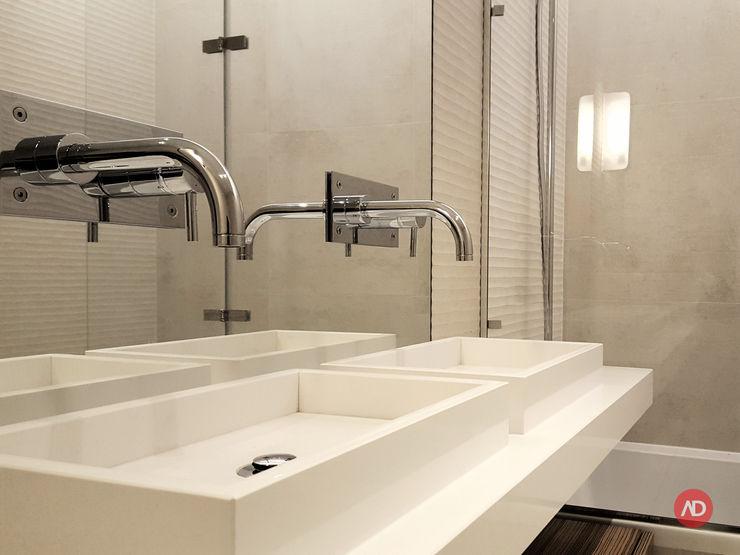 Casa de Banho ARCHDESIGN LX Casas de banho mediterrânicas Cerâmica Bege