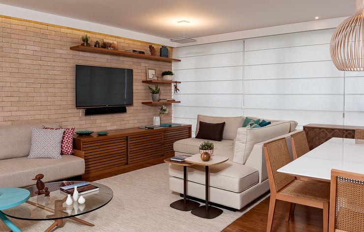 Ambienta Arquitetura غرفة المعيشة