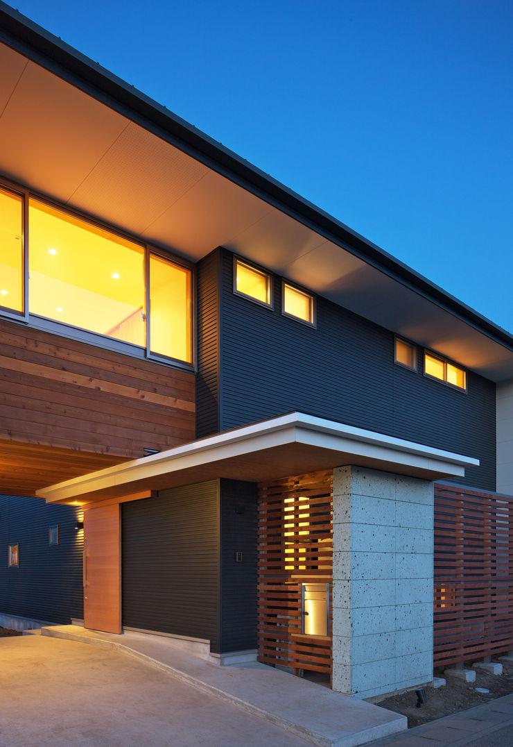 かんばら設計室 Eclectic style houses Stone