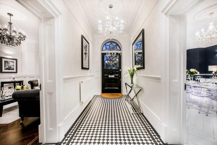 The Cooke's Vogue Kitchens Modern corridor, hallway & stairs