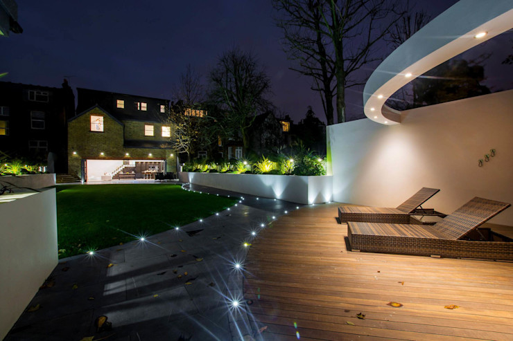 The Cooke's Vogue Kitchens Modern style gardens