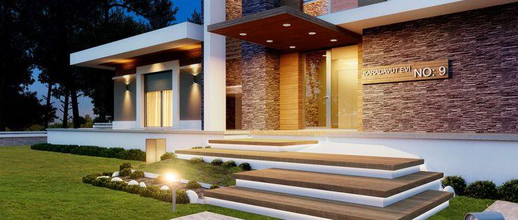VERO CONCEPT MİMARLIK 現代房屋設計點子、靈感 & 圖片