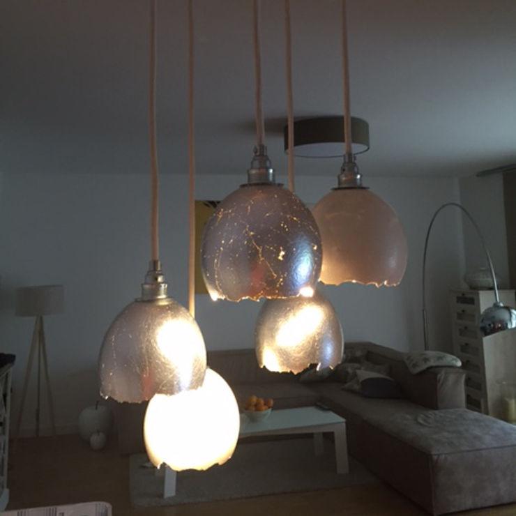 Lieselotte Sala da pranzoIlluminazione Calcare Metallizzato/Argento