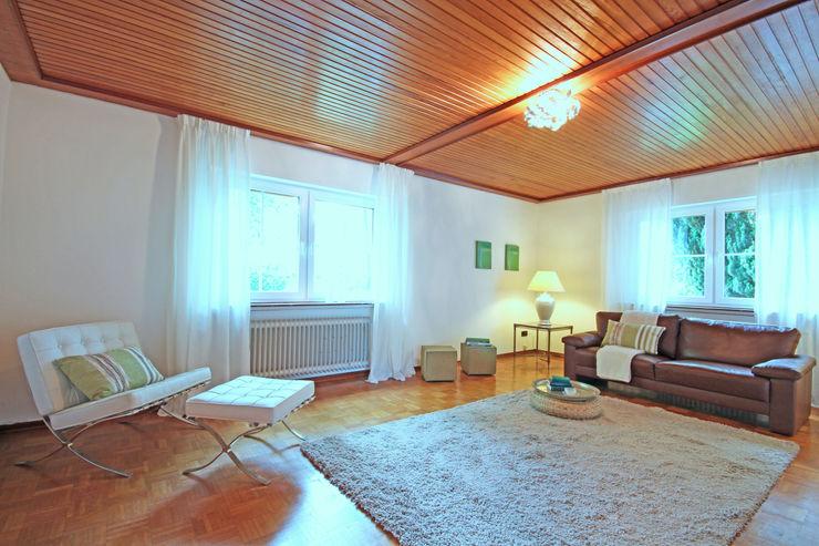 Birgit Hahn Home Staging Classic style living room Beige