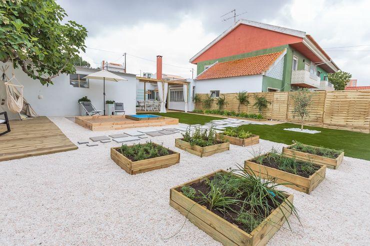 homify Scandinavian style garden
