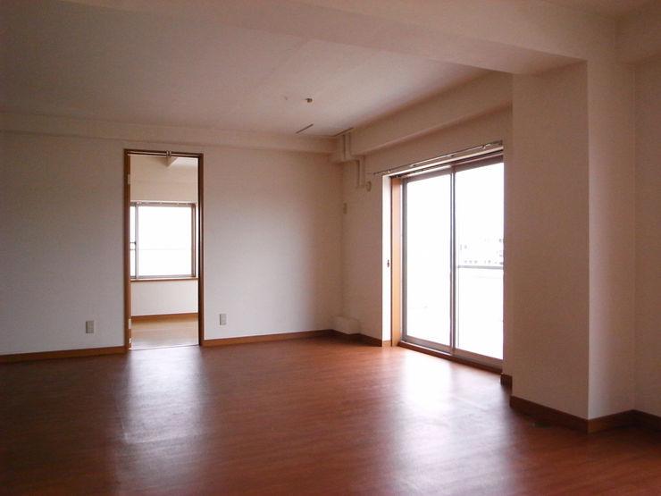 本城洋一建築設計事務所 Minimalist dining room Wood Wood effect