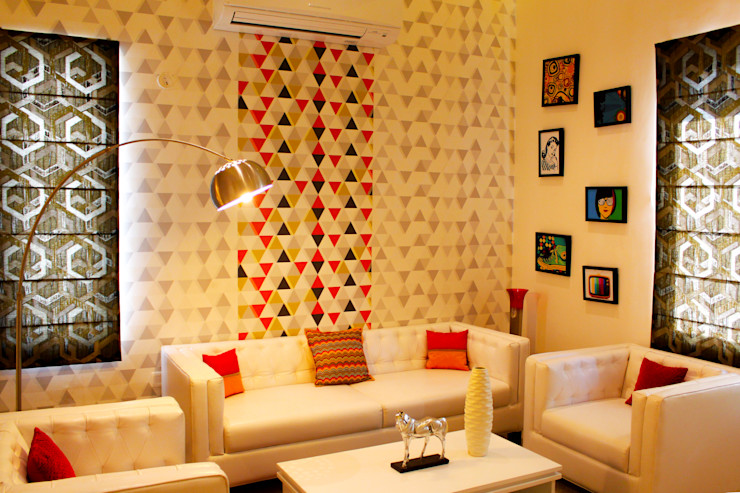 homify SalonAccessoires & décorations Bois Blanc