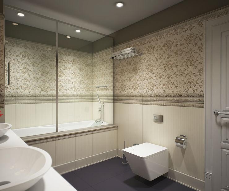 yücel partners Modern Bathroom