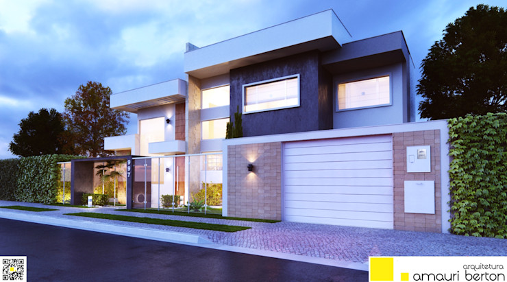 Amauri Berton Arquitetura منازل