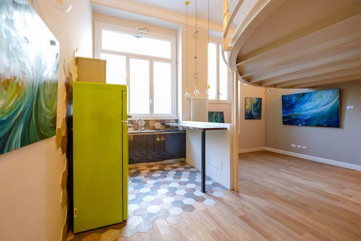 Loft [SAM] Matteo Gattoni - Architetto Cucina eclettica