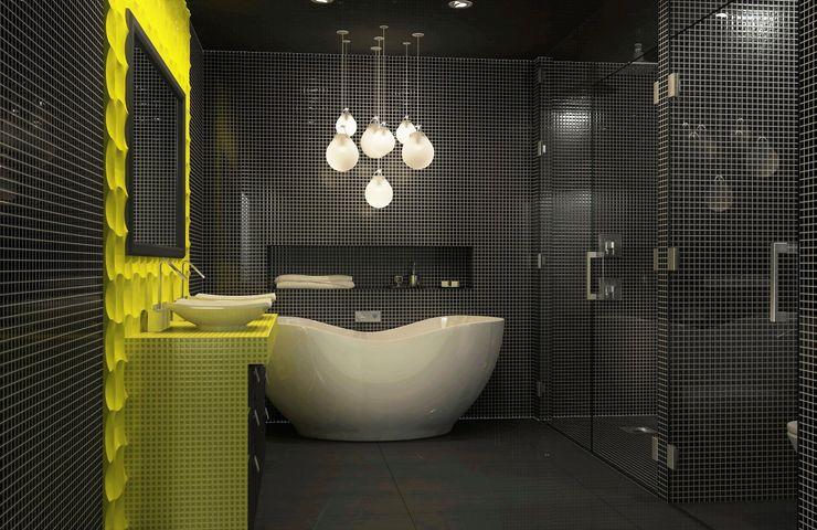 Bathroom interior design Lena Lobiv Interior Design Modern bathroom