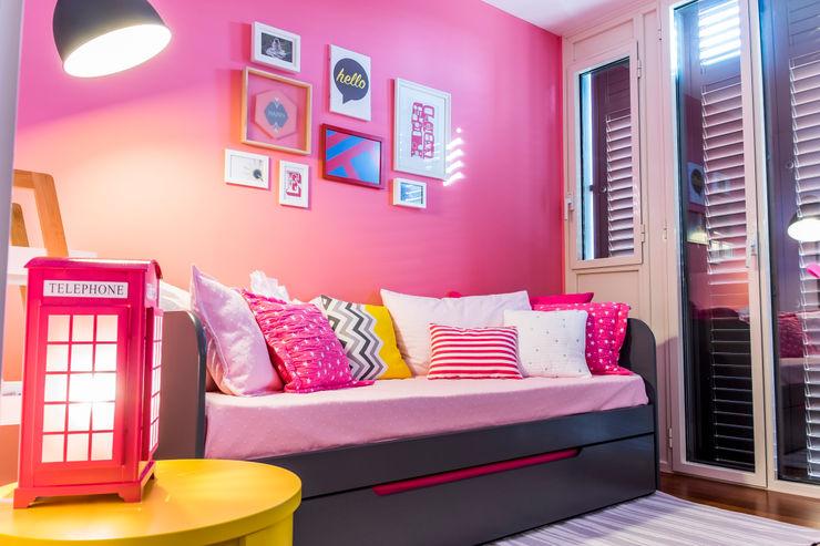 Dormitorio niña homify Dormitorios infantiles de estilo moderno