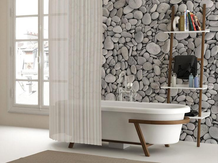 Pebbles Pixers 現代浴室設計點子、靈感&圖片