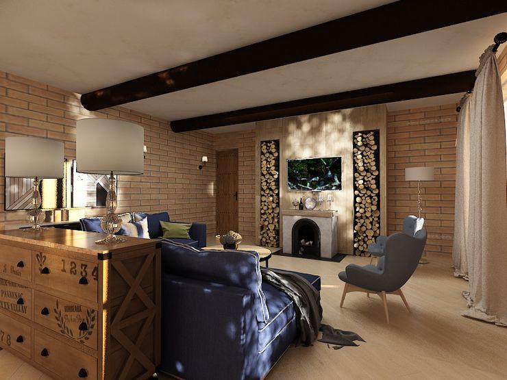 Dstudio.M Living roomFireplaces & accessories