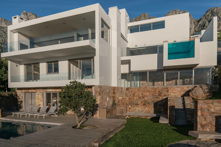 MARVIN FARR ARCHITECTS Casas de estilo moderno