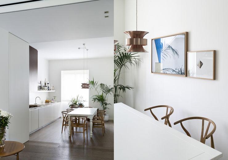 Fabio Azzolina Architetto Nhà bếp phong cách chiết trung
