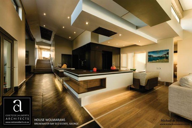 Coetzee Alberts Architects Cocinas de estilo moderno