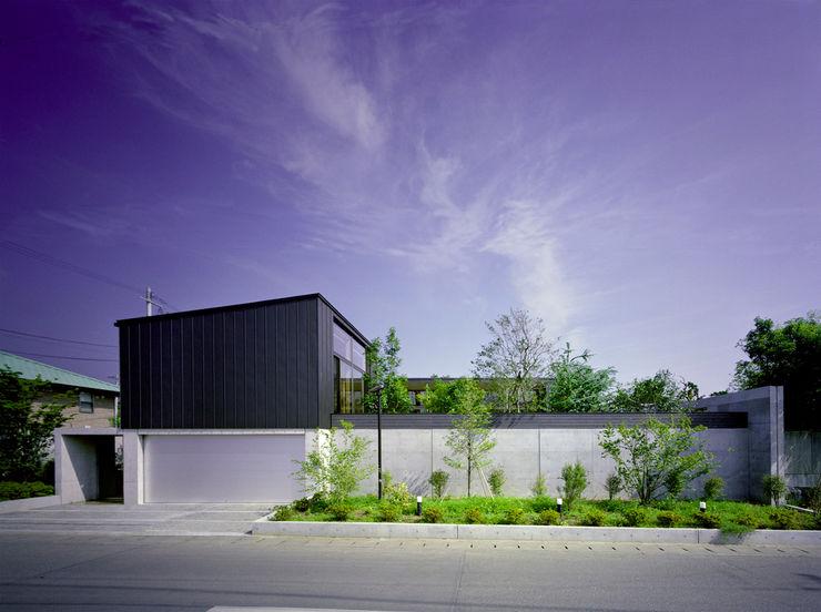 Atelier Square Modern houses Concrete Black