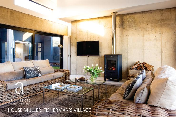 Coetzee Alberts Architects Modern Living Room