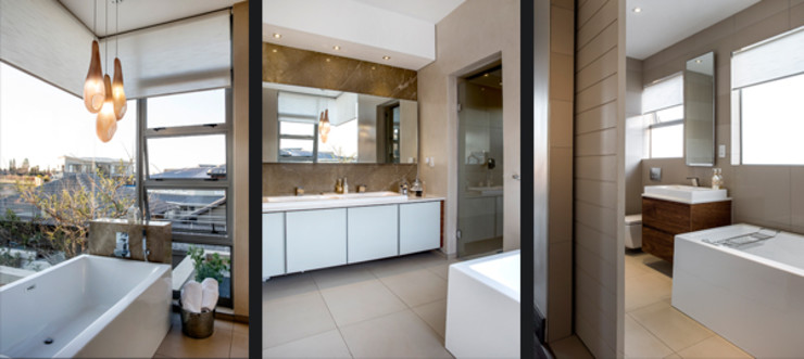 Residence Naidoo FRANCOIS MARAIS ARCHITECTS Modern bathroom