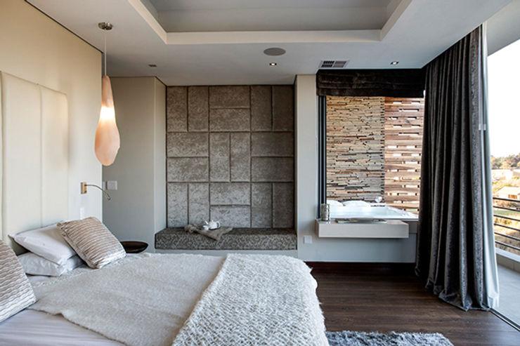 Residence Naidoo FRANCOIS MARAIS ARCHITECTS Modern style bedroom