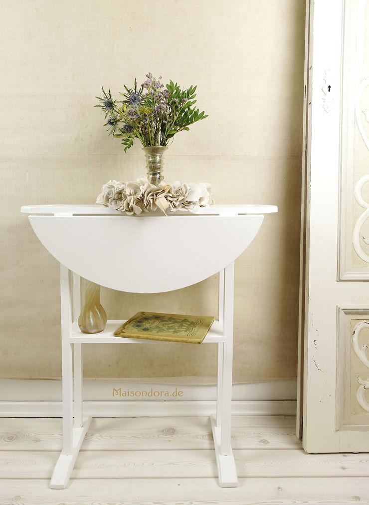 Maisondora Vintage Living Office spaces & stores Wood White