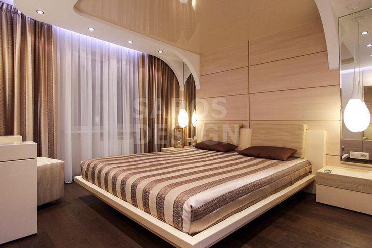 PERFECT & AFFORDABLE LDA Dormitorios de estilo moderno Vidrio Beige